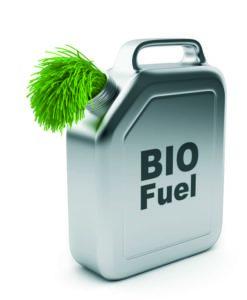 Biofuel carton illustration
