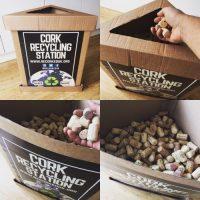 Cork recycling