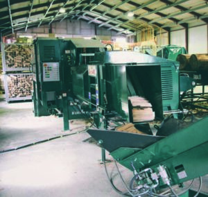Log production machinery