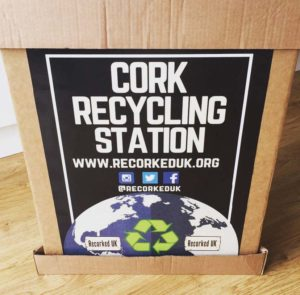Recycling station from Recorked
