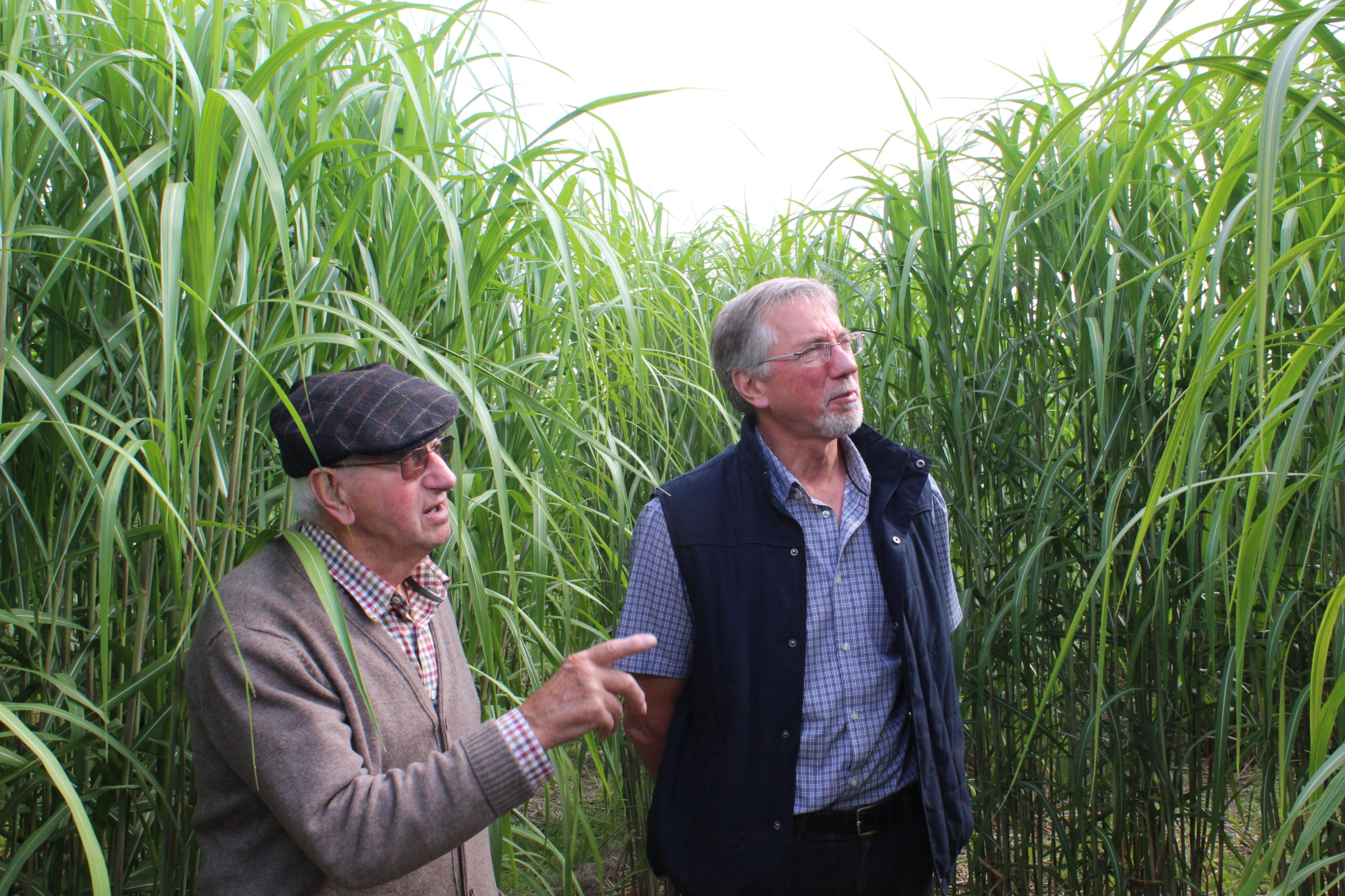 Mike Woollacott (right) is working with EBRI to run a series of events for farm based businesses in the West Midlands