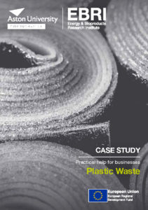 Front cover of Plastic Waste case study